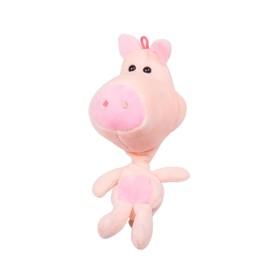 Мягкая игрушка-подвеска «Свинка», 20 см Ош