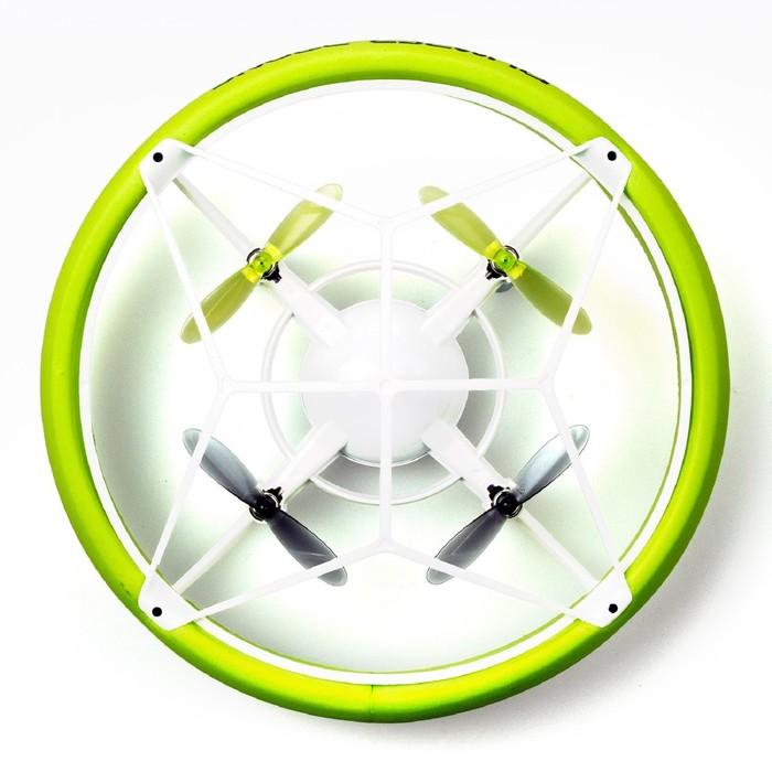 Бампер мини радиоуправляемый «Дрон», зелёный