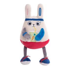 Мягкая игрушка «Заяц-энергетик», 15 см
