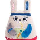 Мягкая игрушка «Заяц-энергетик», 15 см - Фото 6
