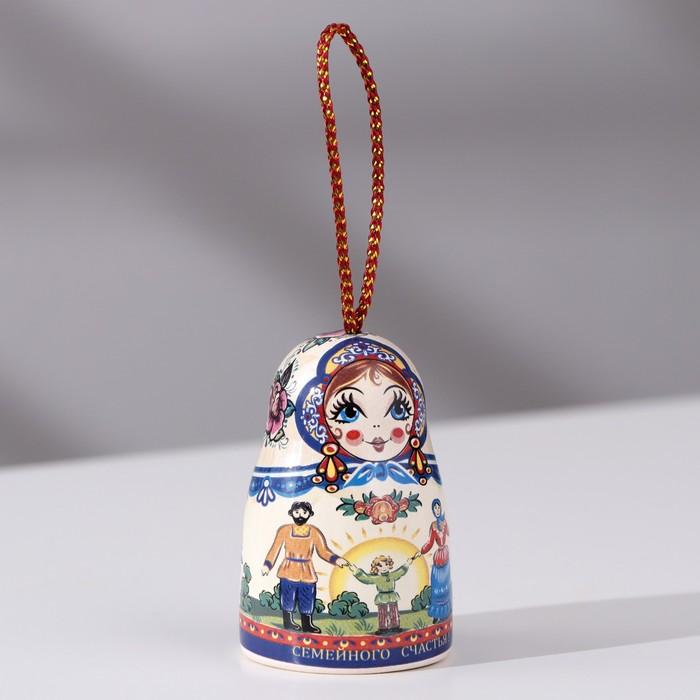 Сувенир Матрешка, керамика
