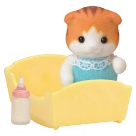 Игровой набор «Малыш Рыженький котенок»