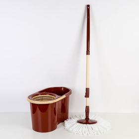 Набор для уборки 16 л Mop Style, цвет коричневый Ош