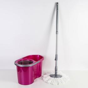 Набор для уборки 16 л Mop Style, цвет лиловый Ош