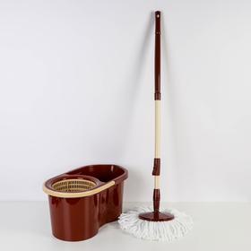 Набор для уборки 14 л Eco Mop Style, цвет коричневый Ош