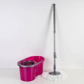 Набор для уборки 14 л Eco Mop Style, цвет лиловый Ош