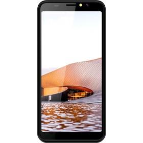 "Смартфон Haier Alpha A6, 5.5"", IPS, 8Гб, 1Гб, 8Мп, 4G, Android 8.1, чёрный"