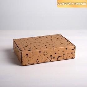 Коробка складная крафтовая «Космос», 21 × 15 × 5 см (4789098) - Купить по цене от 52.00 руб. | Интернет магазин SIMA-LAND.RU