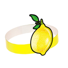 Маска-ободок «Лимон», картон