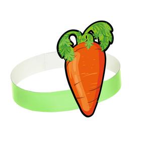 Маска-ободок «Морковка», картон