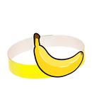 Маска-ободок «Банан», картон