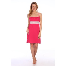 Сорочка женская, цвет малина, размер 44