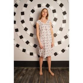 Сорочка женская «Кети», цвет бежевый, размер 54