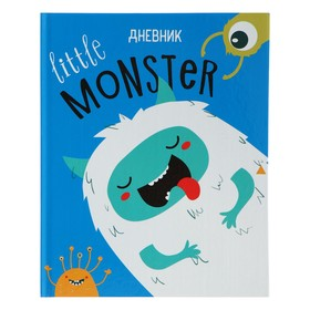 Дневник для 1-4 классов 'Литтл монстр', твёрдая обложка, глянцевая ламинация, 48 листов Ош