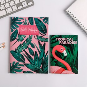 Набор Блокнотов А6, А5 Tropical Paradise, 32 листа Ош