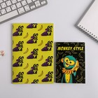 Набор Блокнотов А6, А5 Monkey style, 32 листа