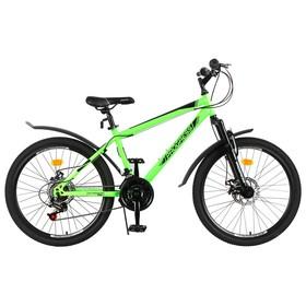 Велосипед 24' Progress модель Stoner Disc RUS, цвет зелёный, размер 15' Ош