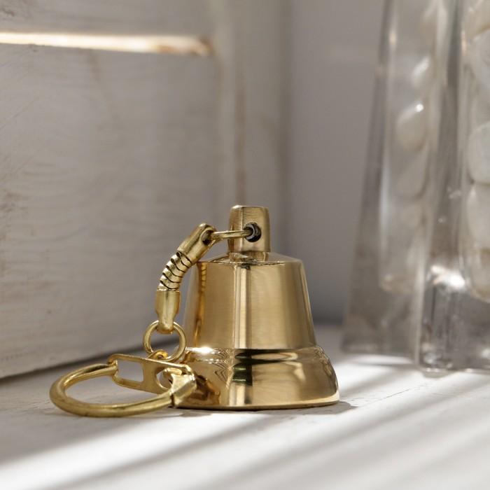 Колокольчик Валдайский Брелок, полированный, d30 мм