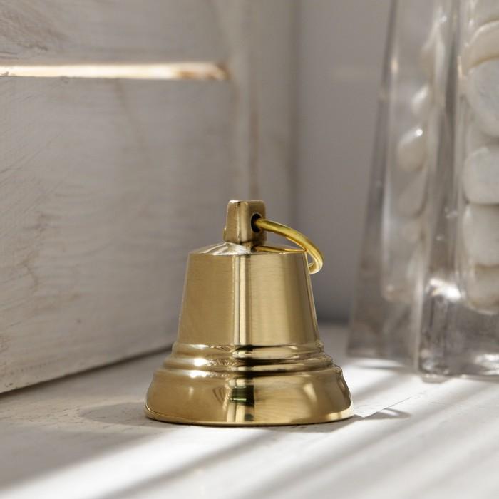 Колокольчик Валдайский 2, полированный, с ушком, d35 мм
