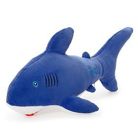 Мягкая игрушка «Акула Шарка Софт» синяя, 38 см