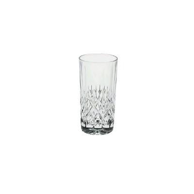 Набор хрустальных стаканов для воды, сока, морса Angela, 6 шт., 320 мл