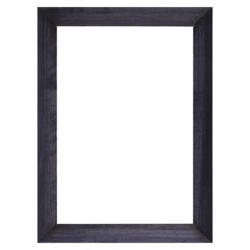 Рама для зеркал и картин дерево 21 х 30 х 3.0 см, липа, синий Ош