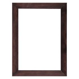 Рама для картин (зеркал) 21 х 30 х 3.0 см, дерево, липа, венге Ош