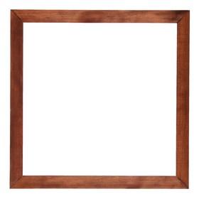 Рама для зеркал и картин, дерево, 35 х 35 х 3.0 см, липа, вишня Ош