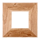 Рама для зеркал и картин, дерево, 10 х 10 х 5.0 см, липа, «Старина», горячее тиснение