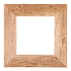 Рама для зеркал и картин, дерево, 15 х 15 х 5.0 см, липа, «Старина», горячее тиснение