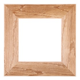 Рама для картин (зеркал) 15 х 15 х 5.0 см, дерево, липа, «Старина», горячее тиснение Ош