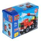 Конструктор «Пожарная служба: машина 3в1», 34 детали