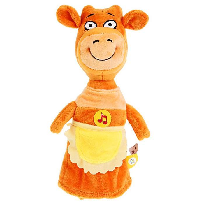 Мягкая музыкальная игрушка Корова Мама, 27 см