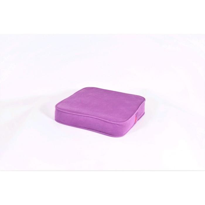 Подушка-пуф передвижной «Моби», размер 50 × 50 см, фиолетовый, велюр