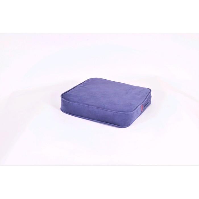 Подушка-пуф передвижной «Моби», размер 50 × 50 см, черничный, велюр
