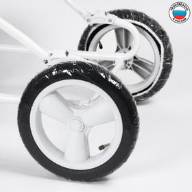 Чехлы на колеса коляски, d=32 см., 2 шт., ПВД Ош