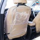 Защитная накидка на спинку сидения автомобиля, 60х40, ПВХ, карман под планшет