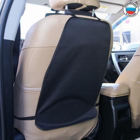Защитная накидка на спинку сидения автомобиля, 38х55, оксфорд, цвет черный Ош