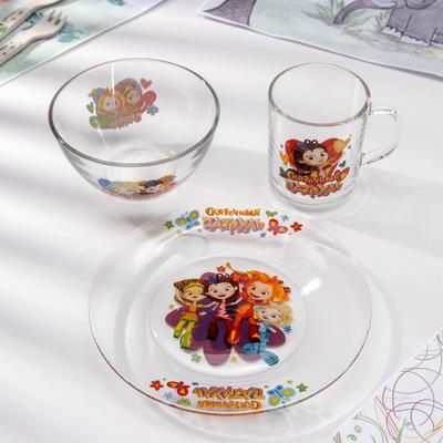 Набор посуды «Сказочный патруль», 3 предмета - Фото 1