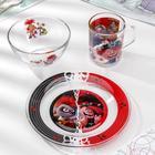 Набор посуды «Тролли 2. Рок», 3 предмета - Фото 1