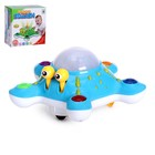 Развивающая игрушка «Осьминог», световые и звуковые эффекты, цвета МИКС