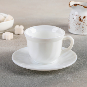Чайная пара 190 мл «Бэлла», блюдце 13,5 см