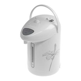 Термопот HOMESTAR HS-5001, 2.5 л, 750 Вт, бело-серый Ош