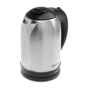 Чайник электрический Homestar HS-1009, 1500 Вт, 1.8 л, металл Ош