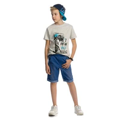 Шорты для мальчика, рост 140 см, цвет синий
