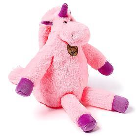 Мягкая игрушка «Единорог», 28 см, длинноногий, цвет розовый