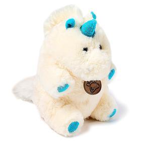 Мягкая игрушка «Единорог», 22 см, цвет молочный