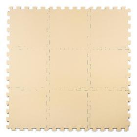 Мягкий пол универсальный 30 × 30, цвет бежевый