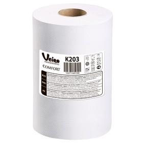 Полотенца бумажные Veiro Professional Comfort К203, белые, 150 м