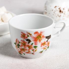 Чашка чайная «Яблоневый цвет», 250 мл